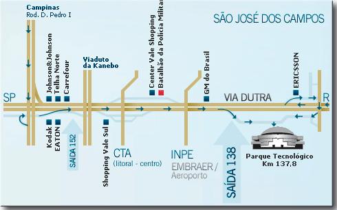 Mapa de Localização da NEXUS